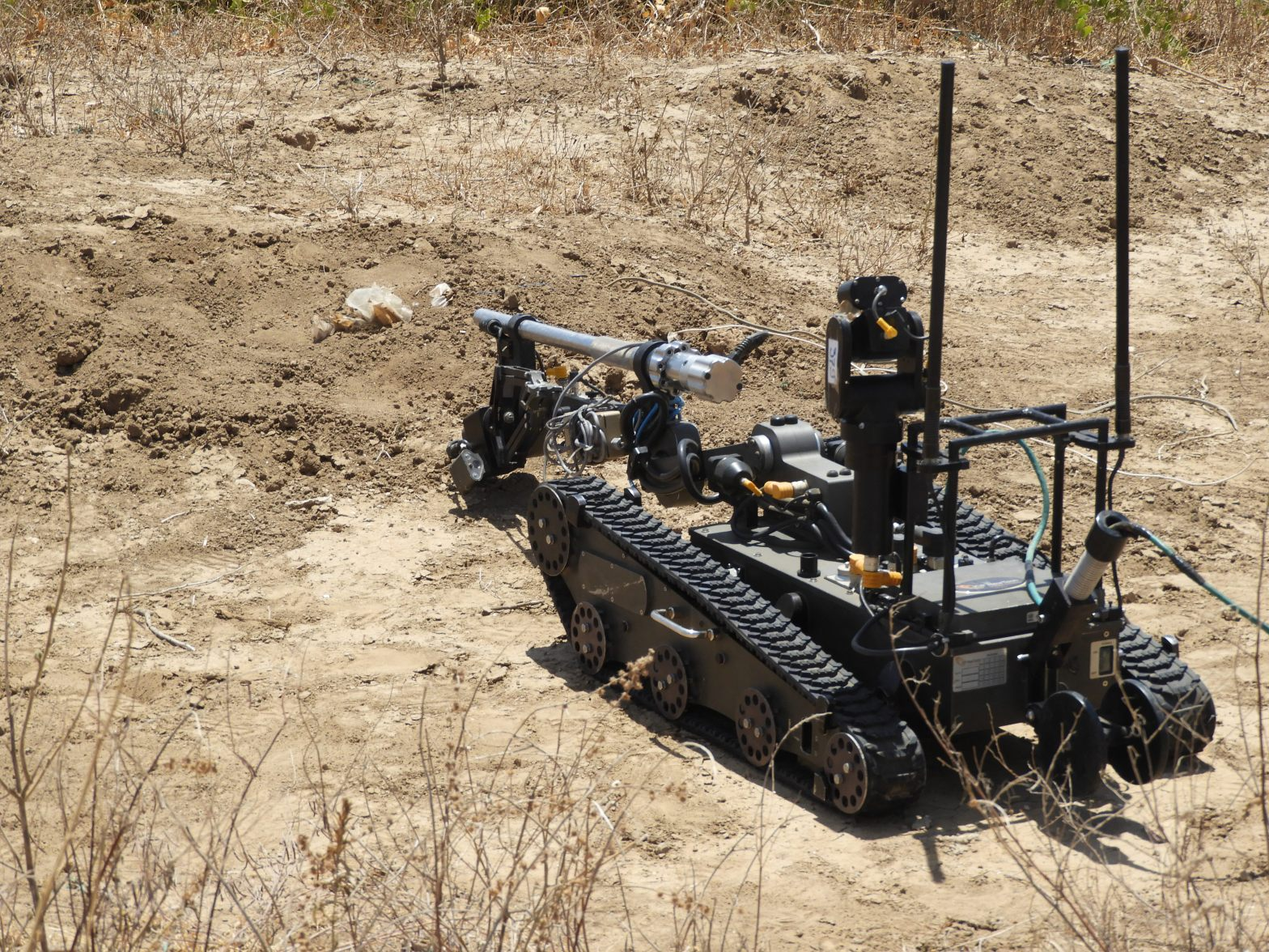 Good Remotely operated machine